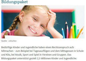 Bild Bildungspaket